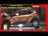 Cómo de seguro es el Dacia Sandero Stepway 2021
