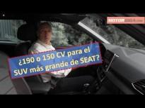 SEAT Tarraco diésel 2020 comparativa (150 vs 190 CV)