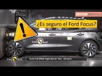 Como de seguro es el Ford Focus Test Euro NCAP 2019