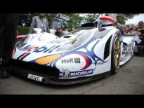 Porsche en Goodwood con Mark Webber y el 911 GT1
