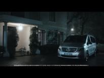 Anuncio de televisión de la furgoneta Mercedes clase V
