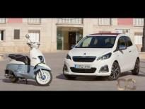 Nuevo Peugeot 108 y Peugeot Django