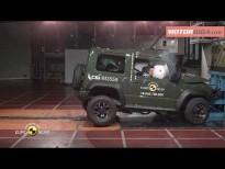 Seguridad Suzuki Jimny 2018 pruebas euroncap