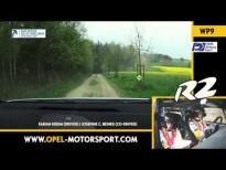 Opel Motorsport. El Opel Adam de rallies en acción