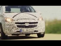 El nuevo Opel Corsa camuflado