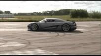 Video Koenigsegg Agera 2012 - Test Track