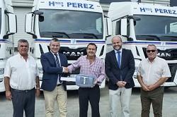 Transportes P�rez Casquet a�ade a su flota 41 unidades del Man TGX EfficientLine 2