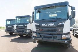Comercial Iberoamericana de Servicios suma a su flota 4 Scania P 370 XT hormigonera