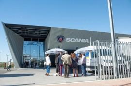 CICA Huelva, el concesionario oficial de Scania, inaugura sus nuevas instalaciones