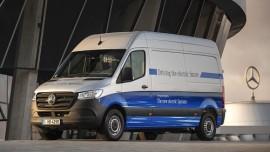 Mercedes-Benz eSprinter: así es la nueva furgoneta eléctrica de Mercedes