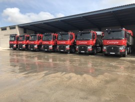 Renault Trucks T 460: Hormigones Castrejón refuerza su flota con 7 unidades del modelo