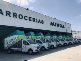 Córdoba apuesta por la sostenibilidad incorporando 10 Maxus EV80 100% eléctricos a su servicio de recogida de basuras