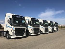 Hervian amplía su flota con 5 unidades del Volvo FH13 500