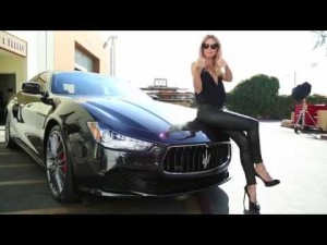 Maserati in 50th Anniversary Sports Illustrated Swimsuit Issue - Ghibli