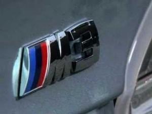 Video - BMW M3 -imágenes estáticas-