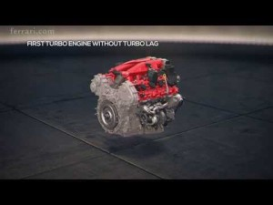 Ferrari California T - Focus on powertrain