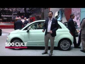 Fiat 500 Cult at Geneva Motor Show