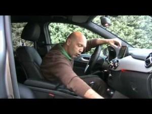 Video Mercedes Clase-b 2012 - Analisis Asientos Delanteros
