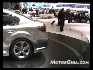 Video - Imágenes Subaru Legacy prototipo (Salón de Ginebra 2009)