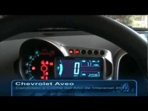 Vídeo Chevrolet Aveo entrevista