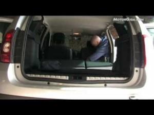 Vídeo Dacia Duster modularidad