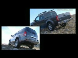 Video Nissan Navara y Pathfinder -imágenes oficiales-