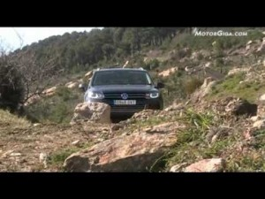 Video VW Touareg 2010 -video rodado en la presentacion-