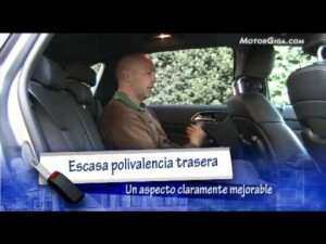 Video Mercedes Clase-b 2012 - Claseb Asientos Traseros Maletero