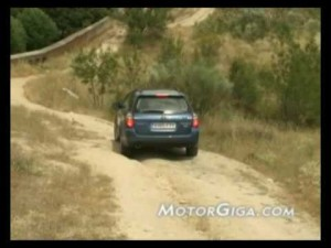Video - Prueba dinámica Subaru Outback diésel 2009