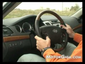 Video - Hyundai Sonata CRDi (análisis de interiores)