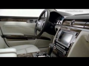 Video Volkswagen Phaeton 2010 -interiores-