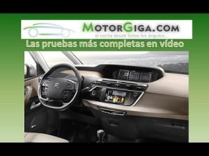 Citroen C4 Grand Picasso 2014 plazas delanteras