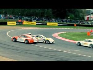 Porsche Carrera Cup GB - Action from Brands Hatch