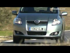 Video - Prueba Toyota Auris