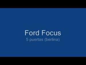 Ford Focus 2008 (Coupe, Berlina y Sportbreak) -no sedán-
