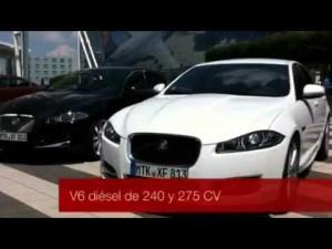 Vídeo Jaguar XF MY2012, presentación