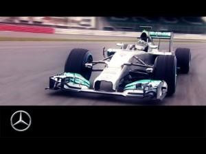 Der neue MERCEDES AMG PETRONAS F1 W05