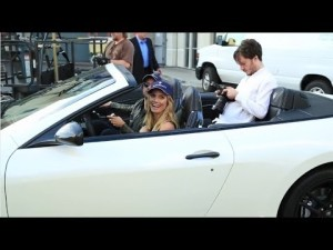 Maserati in 50th Anniversary Sports Illustrated Swimsuit Issue - Backstage