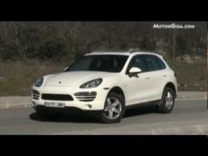 Vídeo Porsche cayenne diesel prueba dinamica