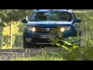 Video - Imágenes dinámicas e interiores del Dacia Sandero