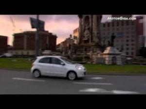 Video Nissan Micra 2010 promocional de Nissan