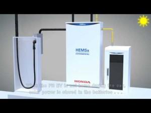 Honda Home Energy Management System (HEMS) Technical Animation