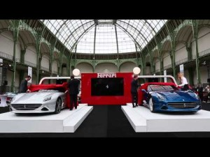The Ferrari California T makes its French première at the Grand Palais