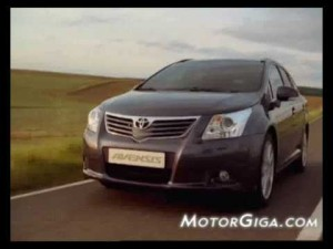 Video - Toyota Avensis AutoDrive