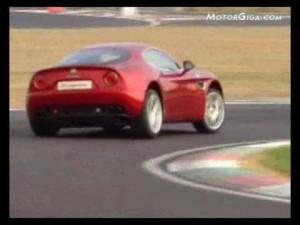 Video - Alfa 8C Competicione (Imágenes dinámicas)