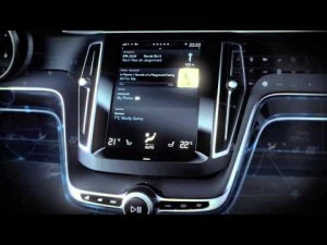 Volvo Concept Estate - User Interface