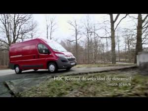 Citroën - Nuevo Citroën Jumper - Control de tracción inteligente y hill-start assist