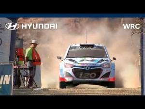 Hyundai en el Rallye de México
