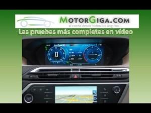 Citroen Grand C4 Picasso 2014 sistema infotainment