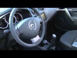 Video Dacia Sandero 2012